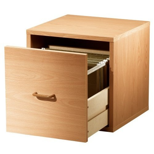 Foremost 390122 Modular File Cube Storage System, Honey