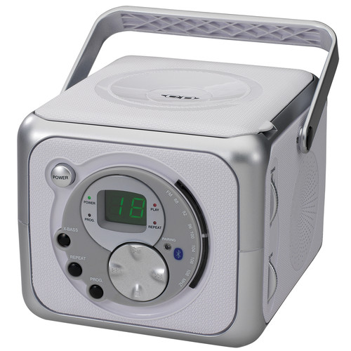 Jensen 97088953M Portable Bluetooth Music System with CD Player