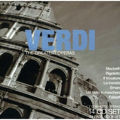 Verdi: The Greatest Operas (Macbeth, Rigoletto, Il trovatore, La traviata, Aida, Otello, Falstaff) [CD]