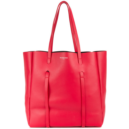 Red Leather Everyday tote bag