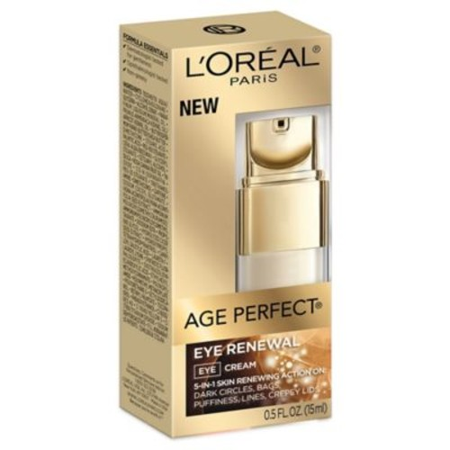 L'Oreal Age Perfect .5 oz. Eye Renewal 5-in-1 Eye Cream