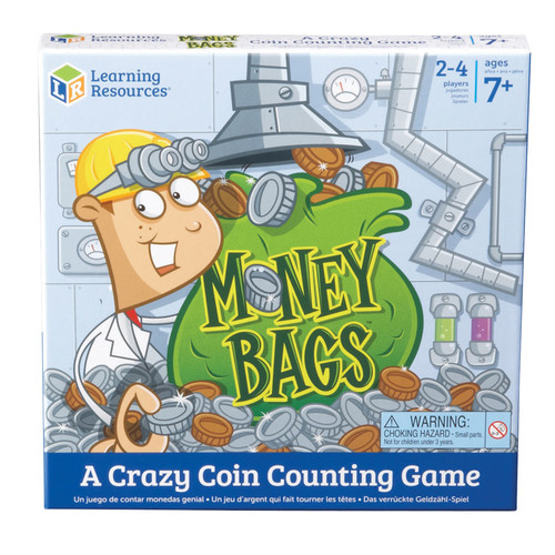 Learning Resources Money Bags A Coin Value Game Gr 2+