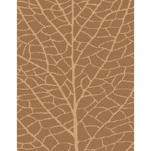 lava Brown/Natural Indoor/Outdoor Reversible Area Rug; 7'10'' x 11'2''