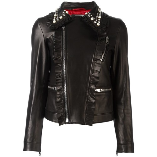 GUCCI Studded Leather Biker Jacket