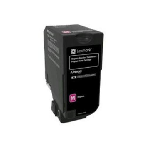 Lexmark - Magenta - original - toner cartridge LCCP, LRP - for Lexmark CS720de, CS720dte, CS725de, CS725dte, CX725de, CX725dhe, CX725dthe