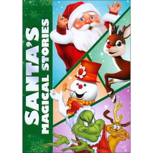 Santa's Magical Stories [3 Discs] [DVD]