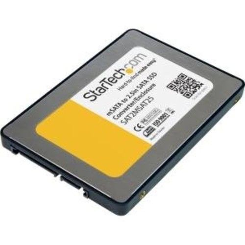 StarTech.com 2.5-Inch SATA to Mini SATA SSD Adapter (SAT2MSAT25)