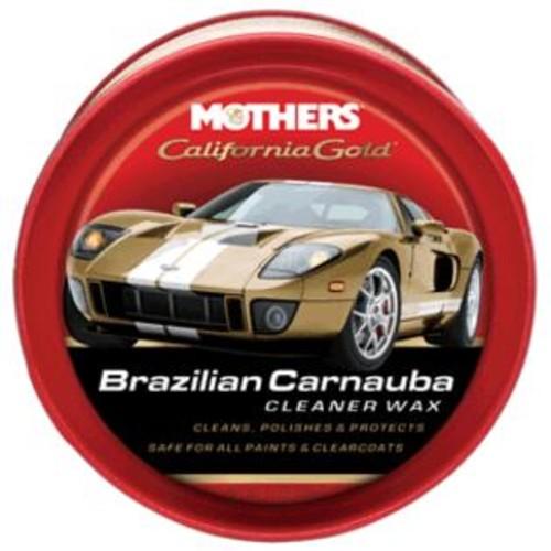 MOTHERS POLISH Mothers California Gold Brazilian Carnauba Cleaner Wax Paste - 12oz