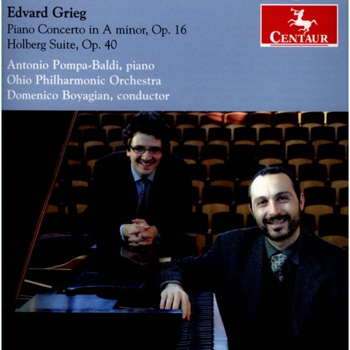 Piano Concerto In A Minor Op 16-CD