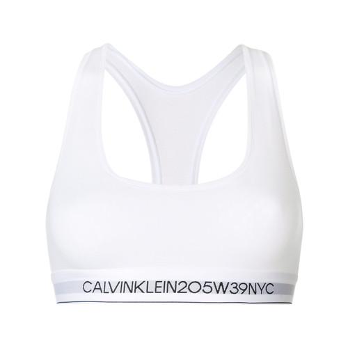Calvin Klein Underwear logo band bra