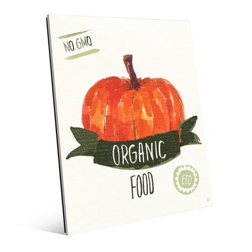 'Organic Food - Pumpkin' Acrylic Wall Art Print