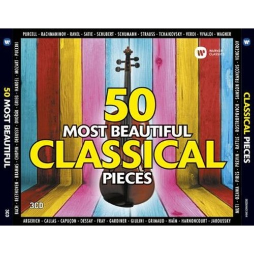 Various - 50 Most Beautiful Classical Pieces