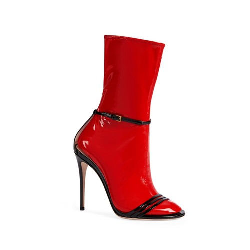GUCCI Ilse 2-In-1 Latex Booties