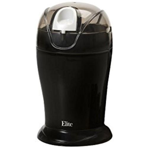 Elite Cuisine ETS-630B Maxi-Matic 150 Watt 4 Ounce Coffee Grinder, Black [Black, One Size]