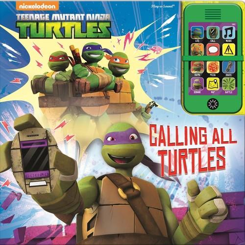 Teenage Mutant Ninja Turtles Calling All Turtles Sound Book