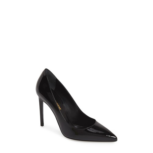 SAINT LAURENT 'Paris Skinny' Pointy Toe Pump