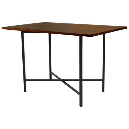 Carolina Cottage Milo Chestnut and Black Writing Desk