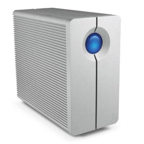 LaCie 8TB 2big Quadra USB 3.0/FireWire 800 2-Bay RAID External Hard Drive (LAC9000317)