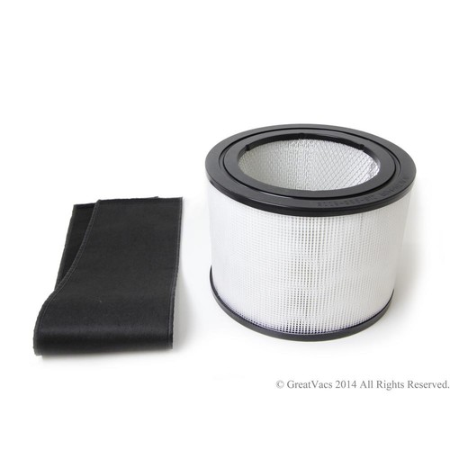 GV New HEPA Filter and Charcoal filter for the Filter Queen Defender Air Purifier Cleaner