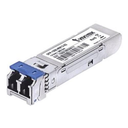 Vivotek - SFP (mini-GBIC) transceiver module - Gigabit Ethernet - LC multi-mode - up to 1640 ft - 850 nm
