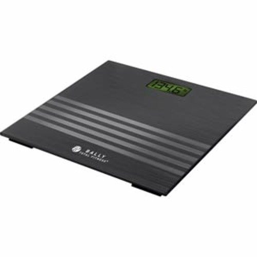 Bally Total Fitness Digital Bathroom Scale - Black