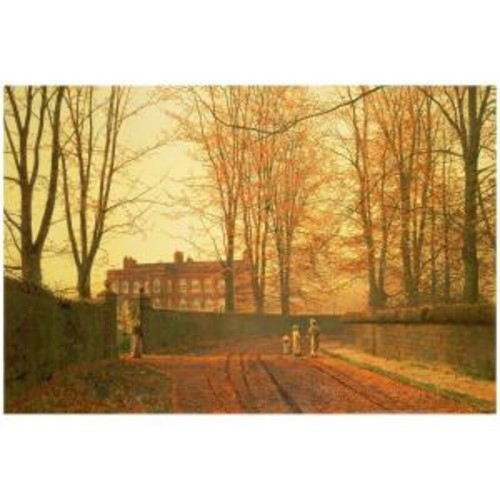 Trademark Fine Art 22 in. x 32 in. Going to Church 1880 Canvas Art