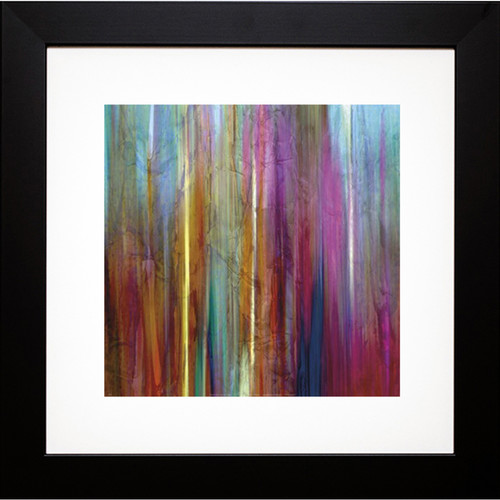 John Butler 'Sunset Falls I' Framed Art Print - Glass