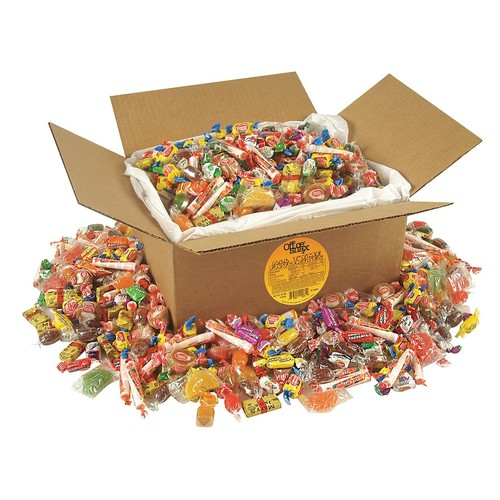 10 lb. Assorted All Tyme Mix Candy; PK1
