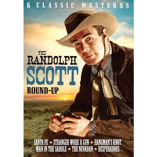 The Randolph Scott Round-Up: 6 Classic Westerns - Volume 2 [2 Discs] [DVD]