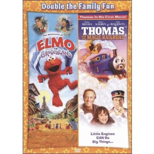 The Adventures of Elmo in Grouchland/Thomas and the Magic Railroad [2 Discs] [DVD]