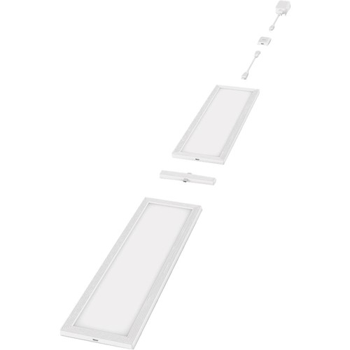 Good Earth Lighting Plug-In LED Under Cabinet Panel Light Kit - UC1142-WHG-12LF2-G