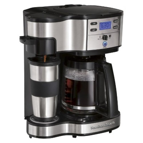 Hamilton Beach Black 2-Way Brewer Coffee Maker- 49980Z