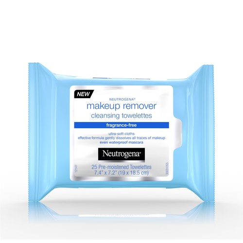Neutrogena Makeup Remover Cleansing Towelettes Fragrance Free -25 Ct