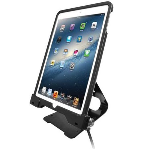 CTA Digital Anti-Theft Security Case with Metal Stand for iPad Air and Air 2 PAD-ASCS