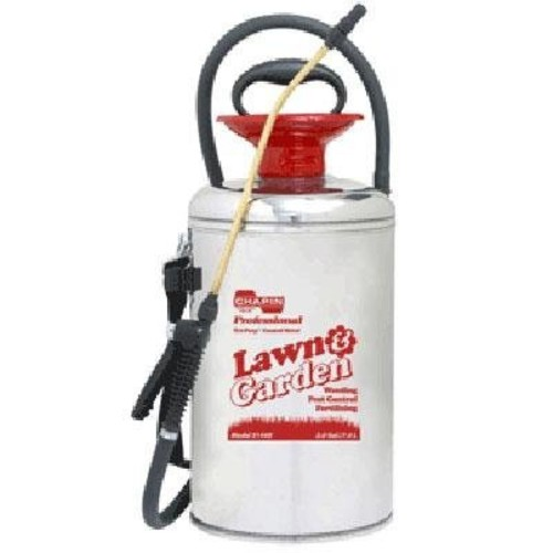 Chapin 31440 2-Gallon Lawn & Garden Series Stainless Steel Sprayer For Fertilizer, Herbicides and Pesticides