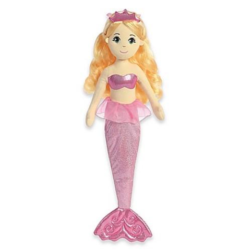 Aurora World Sea Sparkles Topaz Mermaid Plush Toy