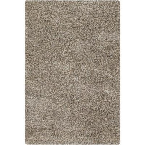 Chandra Estilo Taupe/Ivory 5 ft. x 7 ft. 6 in. Indoor Area Rug