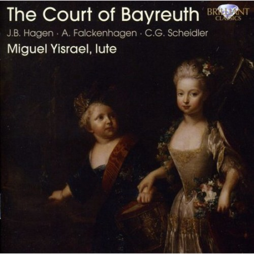Court Of Bayreuth: Lute Music - CD