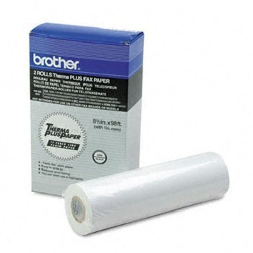 Brothr - 98' Thermaplus Fax Paper Roll Paper,Fax,98'Rl,2/Pk Bwk7204 (Pack Of5)