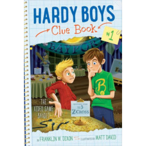The Video Game Bandit (Hardy Boys Clue Book Series #1)
