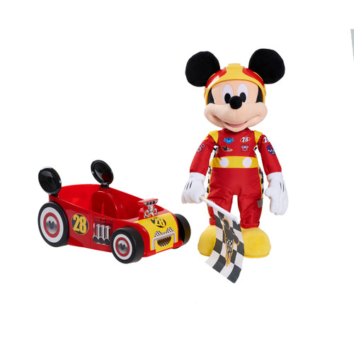 Disney Mickey and the Roadster Racers Racing Plush