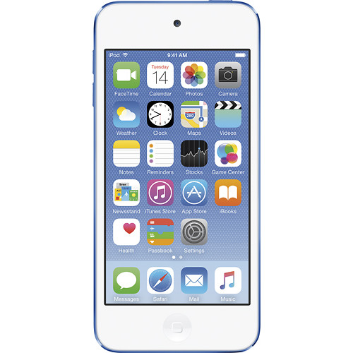 Apple - iPod touch 128 GB MP3 Player (6th Generation - Latest Model) - Blue