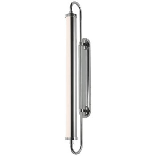 Bauhaus Revisited Rohr Tall LED Wall Sconce [Finish : Polished Chrome]