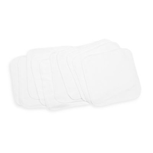 Spasilk 10-Pack Washcloths in White