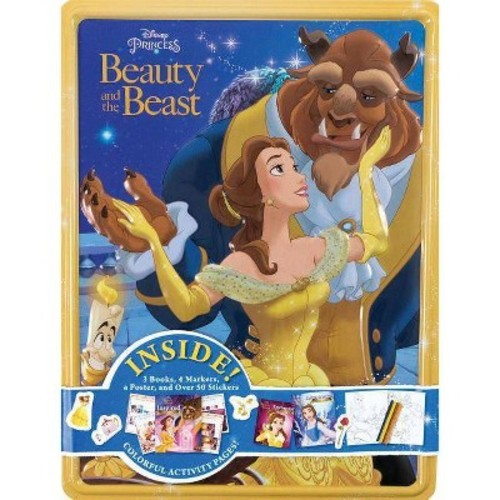 Disney Princess Beauty and the Beast Collector's Tin (Paperback)