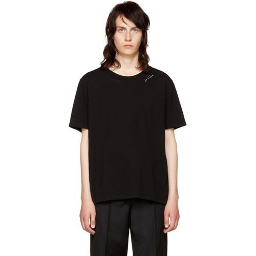 SAINT LAURENT Black 'Je T'Aime' T-Shirt