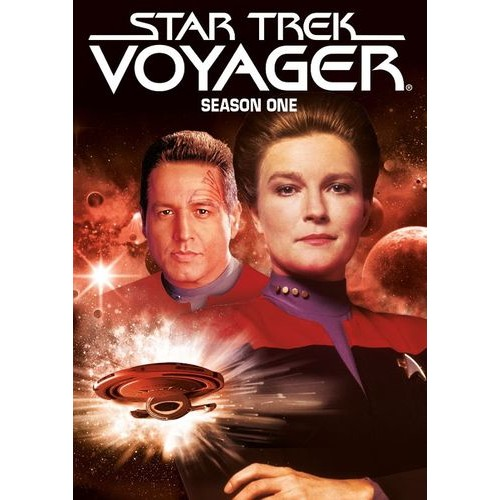 Star Trek: Voyager - Season One [5 Discs] [DVD]