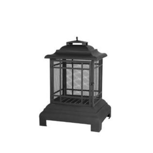 Fire Sense Rectangle Pagoda Patio Fireplace per EA