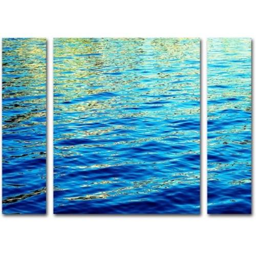 Trademark Global Ariane Moshayedi 'Ripples' Multi Panel Art Set Small