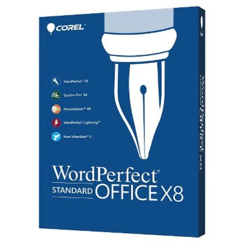 Corel WordPerfect Office X8 Standard Edition for PC